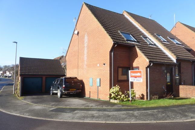 Thumbnail Semi-detached house for sale in Downside Close, Blandford Forum