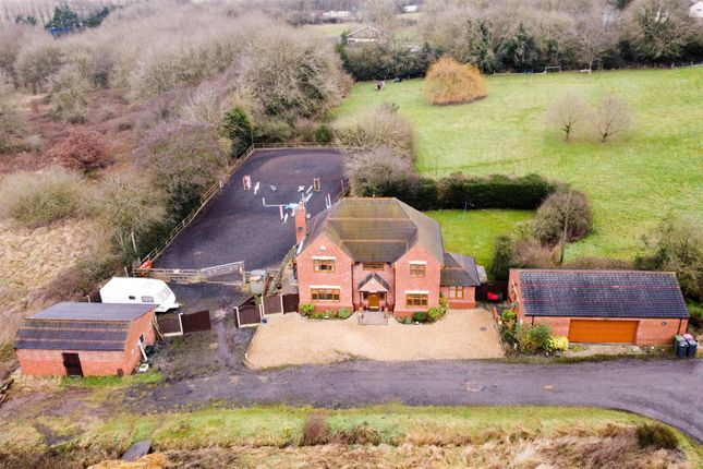 Thumbnail Detached house for sale in The Common, Corley, Coventry