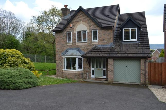 Thumbnail Detached house to rent in Dan Y Deri, Bedwas, Caerphilly