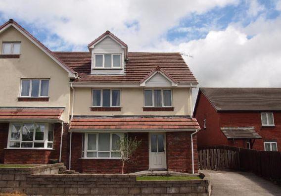 Thumbnail Semi-detached house for sale in Cecil Road, Gorseinon, Swansea, Abertawe