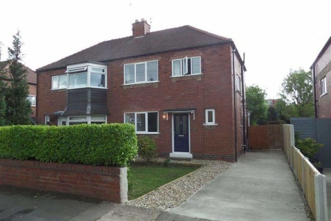Thumbnail Semi-detached house for sale in Cornwall Drive, York