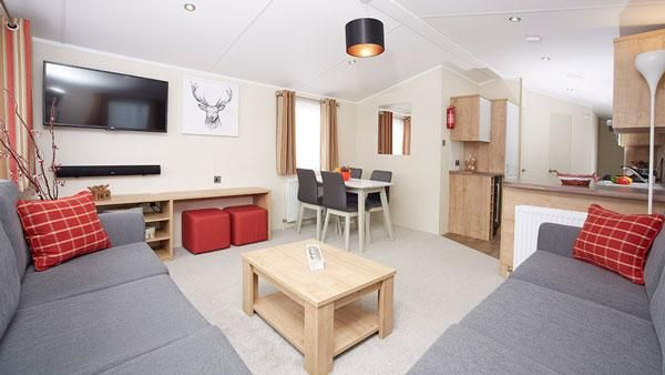 2 bedroom mobile/park home for sale in Ocean Edge Holiday Park, Moneyclose Lane, Heysham, Morecambe, Lancashire