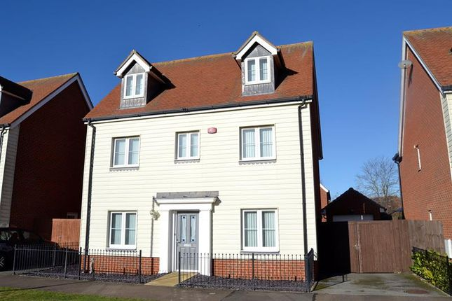 Thumbnail Detached house for sale in Woden Avenue, Stanway, Colchester
