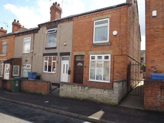 Thumbnail Terraced house for sale in Albion Street, Mansfield, Nottinghamshire