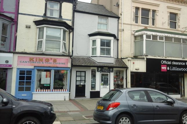 Thumbnail Block of flats for sale in Madoc Street, Llandudno