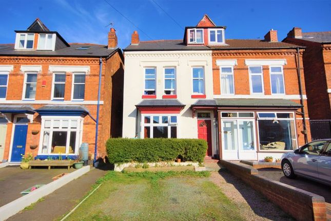 Thumbnail Semi-detached house for sale in Station Road, Kings Norton, Birmingham