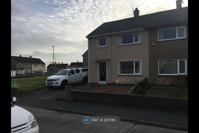 Thumbnail Semi-detached house to rent in Patterdale Avenue, Whitehaven