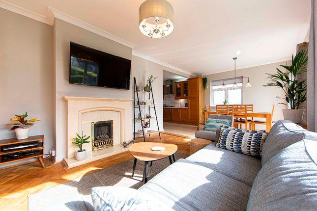 Thumbnail Detached house for sale in Fairmead, Pentwyn Road, Treharris
