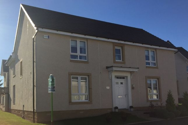 Thumbnail Detached house for sale in Balgownie Drive, Cumbernauld, Glasgow