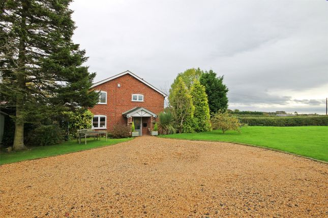 Thumbnail Detached house for sale in Pillmoss Lane, Lower Whitley, Warrington