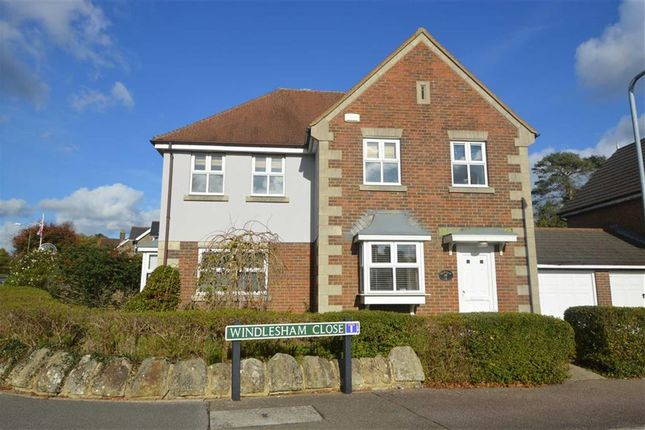 Thumbnail Detached house to rent in Windlesham Close, Crowborough