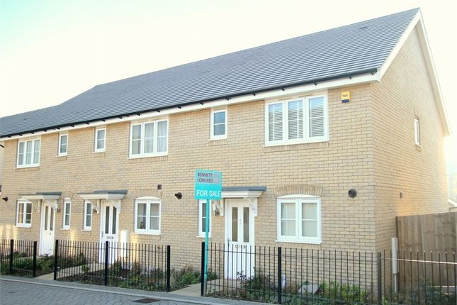 Thumbnail End terrace house for sale in Ash Tree Lane, St. Neots