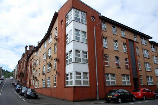 Thumbnail 2 bed flat to rent in Roxburgh Street, Greenock