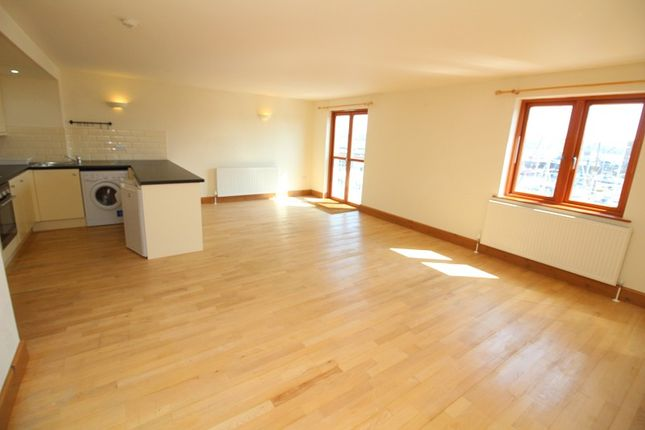 Thumbnail Flat to rent in 13 Sovereign House, Nelson Quay, Milford Haven