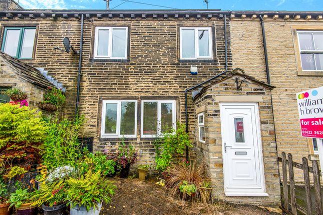 Thumbnail Terraced house for sale in Burrwood Terrace, Holywell Green, Halifax