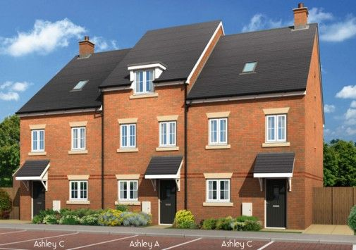 Thumbnail Town house for sale in The Ashley C, Cherry Tree Lane, Stockport