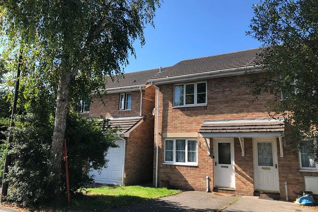 2 bed end terrace house to rent in Llys Eglwys, Bridgend, Bridgend County. CF31