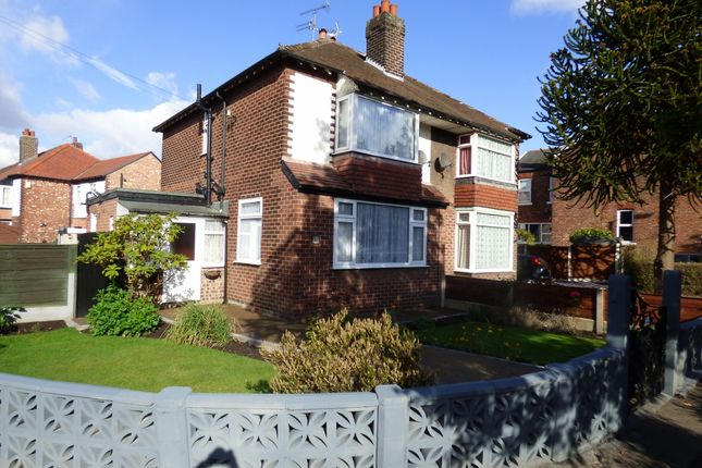 Thumbnail Semi-detached house for sale in Moorland Road, Stockport
