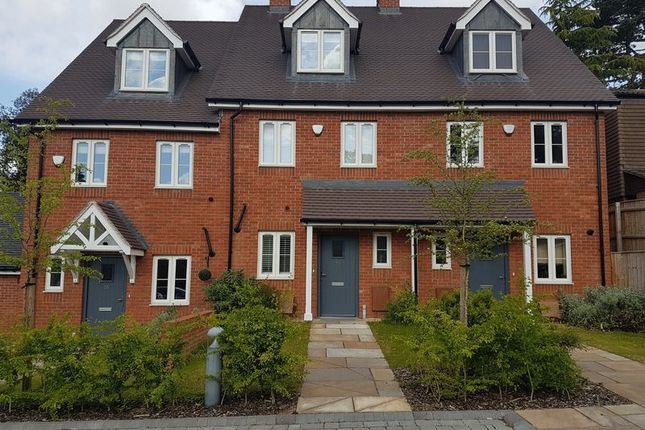 Thumbnail Town house to rent in Weather Oaks, Harborne, Birmingham