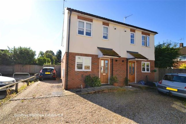 Thumbnail Semi-detached house for sale in Chapel Lane, Potter Street, Harlow, Essex