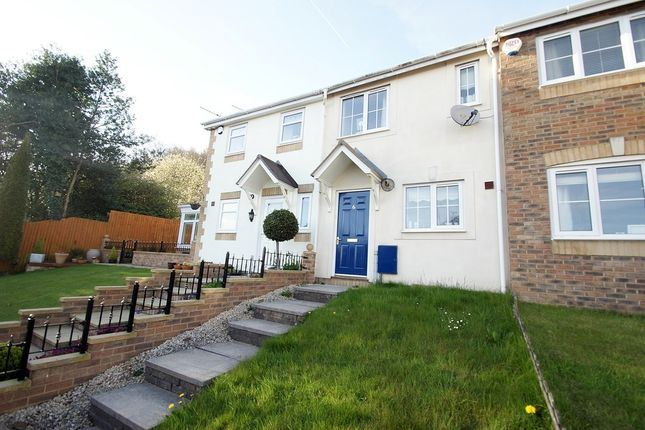 Thumbnail Terraced house to rent in Derwyn Las, Bedwas, Caerphilly