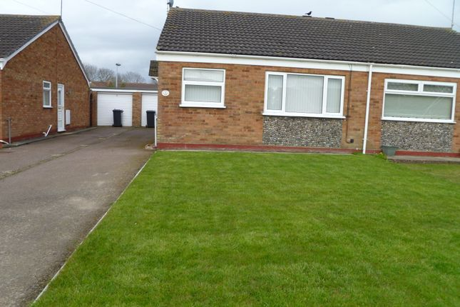 Thumbnail Semi-detached bungalow to rent in Hopton Gardens, Hopton, Great Yarmouth