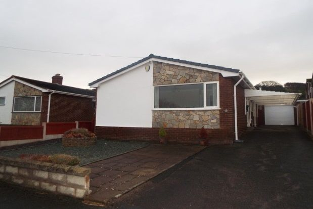 Thumbnail Detached bungalow to rent in Rhodfa Celyn, Prestatyn