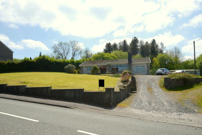 Thumbnail Detached bungalow for sale in Gwendraeth Road, Tumble, Llanelli