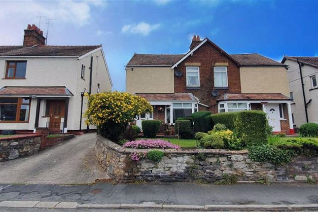 Thumbnail Semi-detached house for sale in Cross Road, Holywell, Flintshire