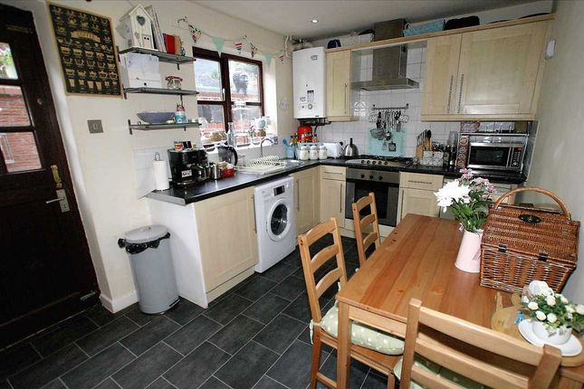 Thumbnail Town house for sale in Orchard Gardens, Leek