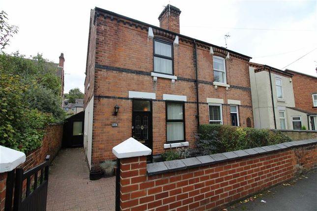 Thumbnail Semi-detached house for sale in Alfreton Road, Little Eaton, Derby