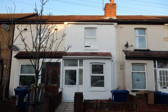 Thumbnail Terraced house to rent in Clarence Street, Southall, Middlesex