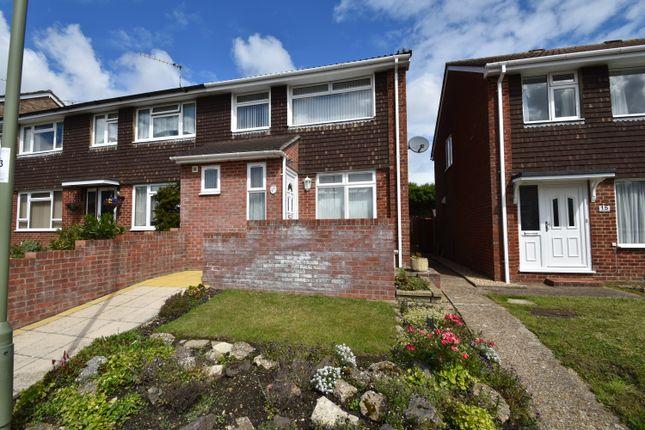 Thumbnail End terrace house for sale in Little Park Close, Hedge End, Southampton, Hampshire