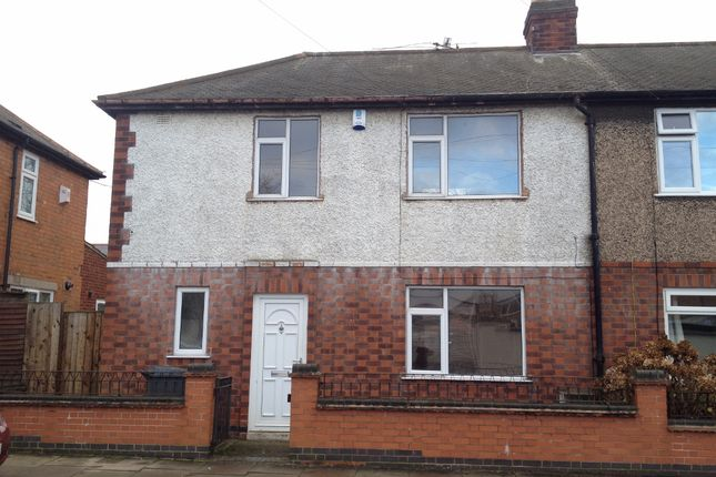 Thumbnail End terrace house for sale in Belper Street, Belgrave, Leicester
