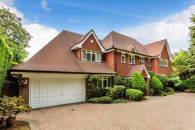 Thumbnail Detached house for sale in The Bridle Path, Ewell, Epsom