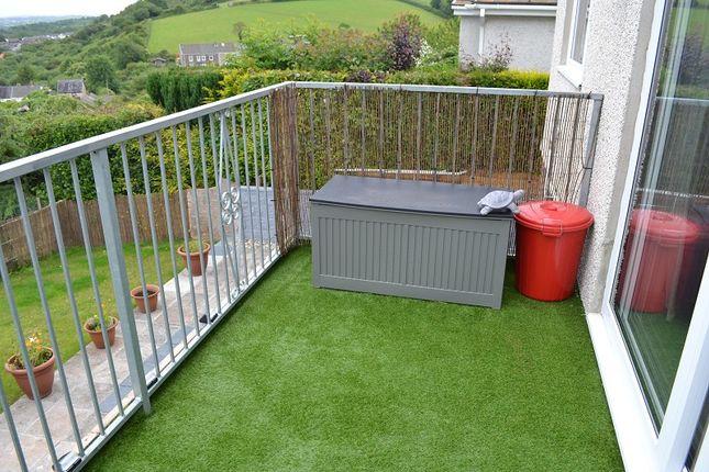 Balcony of Golwg Y Mor, Penclawdd, Swansea SA4