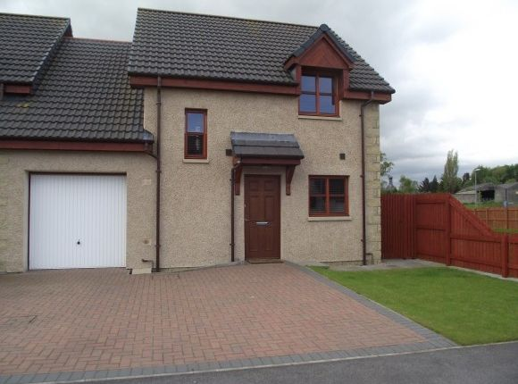 Thumbnail Semi-detached house to rent in Millbuie Street, Elgin