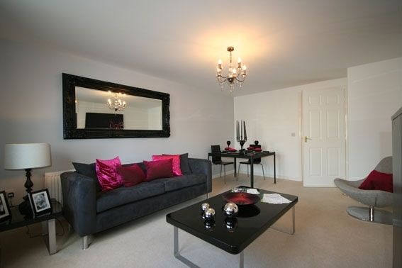 "Thumbnail Flat for sale in ""The Aycliffe "" at Peases Cottages, South Terrace, Darlington"