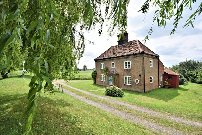 Thumbnail Detached house for sale in Langley, Norwich