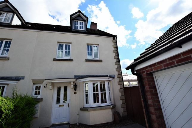 Thumbnail Town house for sale in Crystal Wood Drive, Miskin, Pontyclun