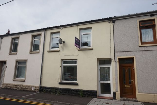 Thumbnail Terraced house for sale in Yew Street, Troedyrhiw, Merthyr Tydfil