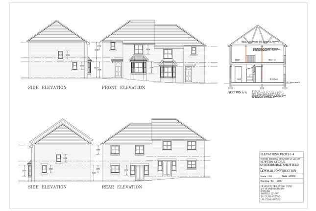 Thumbnail Semi-detached house for sale in Newton Avenue, Stocksbridge, Sheffield
