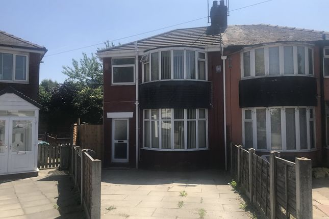 Thumbnail Semi-detached house to rent in Lilmore Avenue, Manchester