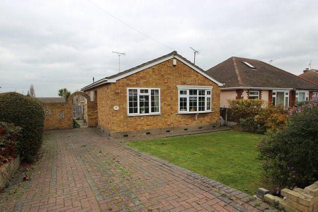Thumbnail Detached bungalow for sale in Croft Road, Benfleet