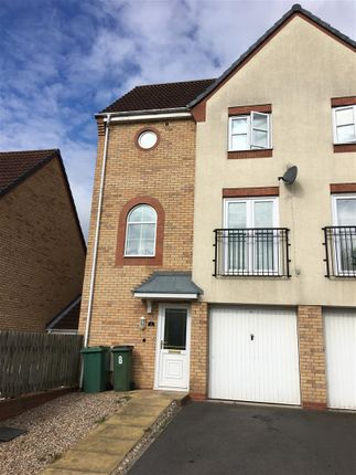 Thumbnail Semi-detached house to rent in Home Avenue, Braunstone, Leicester