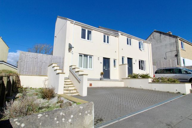 Thumbnail Semi-detached house for sale in Grange Road, Helston