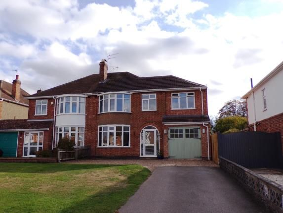 Thumbnail Property for sale in Mere Road, Wigston, Leicester, Leicestershire