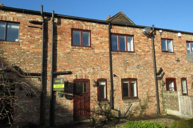 Thumbnail Town house to rent in The Poplars, Newton On Ouse, York