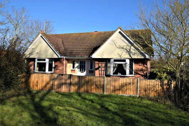 Thumbnail Detached bungalow for sale in Castle Meadow, Sible Hedingham, Halstead