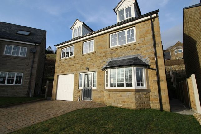 Thumbnail Detached house for sale in Castle Lane, Todmorden